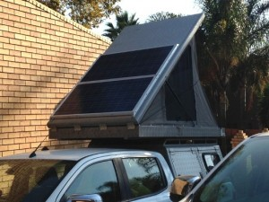 PBE Ford Ranger T6 Canopy Solar Installation