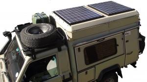 Toyota LC70 Solar Panels 1