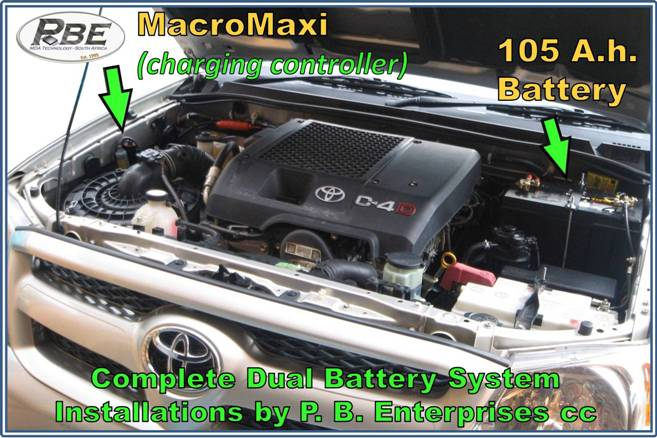 Toyota Hilux Engine bay system JPG – PBE Products